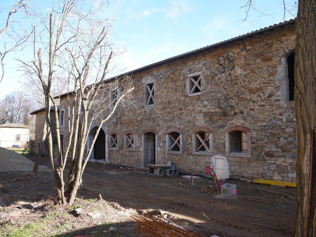 Réhabilitation dépendances Château Lyon