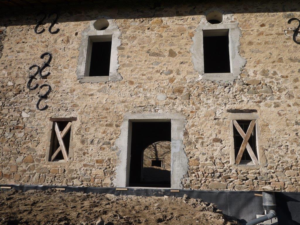 Réhabilitation de dépendances Saint Laurent d'Agny