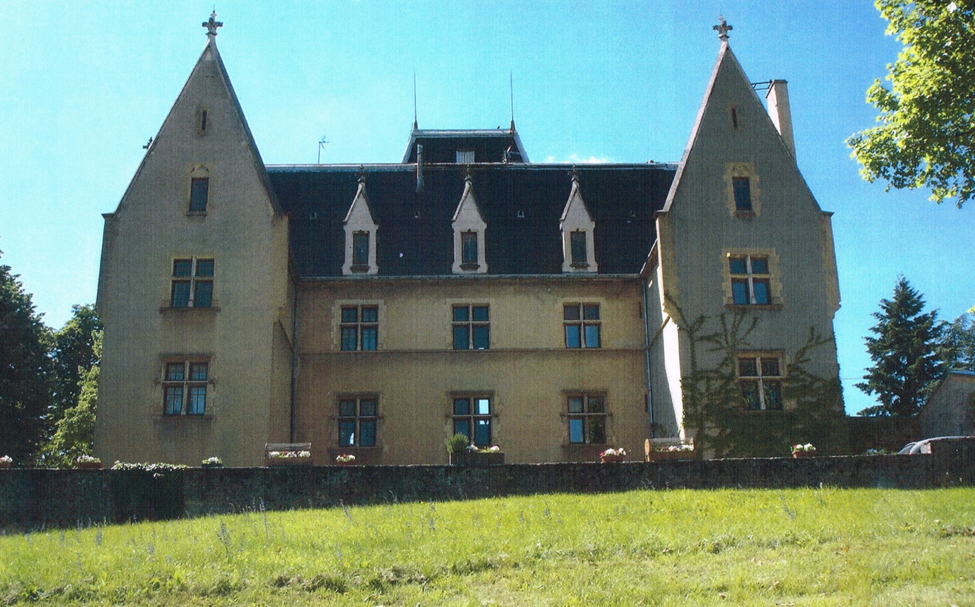 AVANT RESTAURATION château de Bramafan Lyon Sainte Foy les Lyon