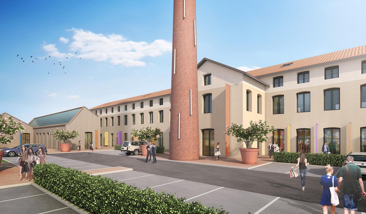Les Jardins de l'Ozon immobilier d'entreprises Sérézin du Rhône