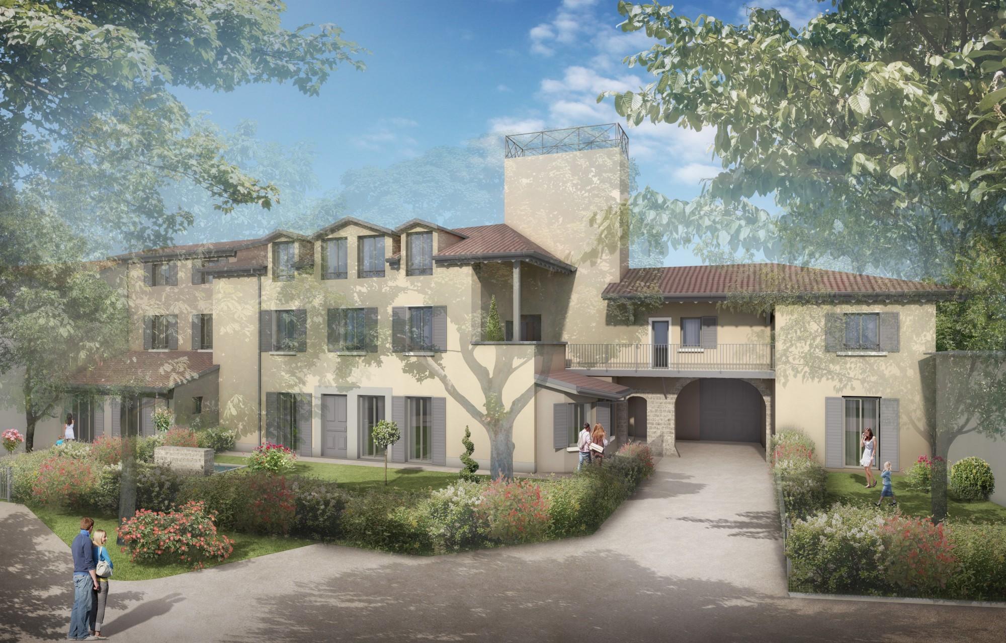 Appartements de prestige à St Cyr au Mont d'Or