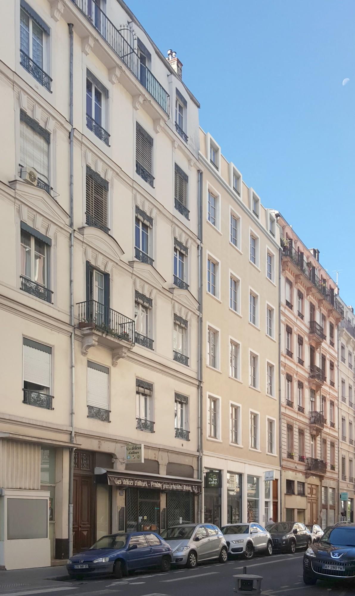Immeuble Lyon 6e investissements immobiliers parc de la Tête d'Or
