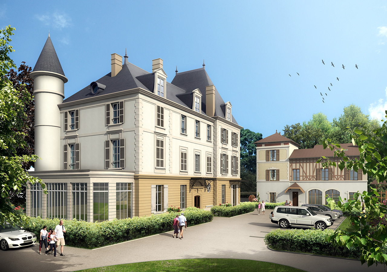 Estimation gratuite de votre bien immobilier à Caluire et Cuire - Crédit illustration Thierry Baille
