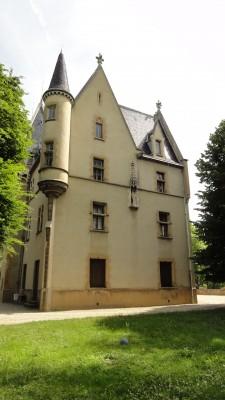 AVANT RESTAURATION tourelle demeure historique Lyon
