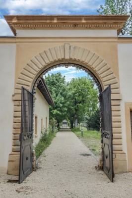APRES RESTAURATION cour propriété historique réhabilitation Lyon